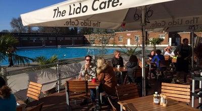 Photo of English Restaurant The Lido Cafe at Brockwell Lido, Dulwich Rd., London SE24 0PA, United Kingdom