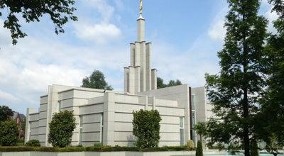 Photo of Temple Tempel van De Kerk van Jezus Christus van de Heiligen der Laatste Dagen at Osijlaan, Zoetermeer, Netherlands