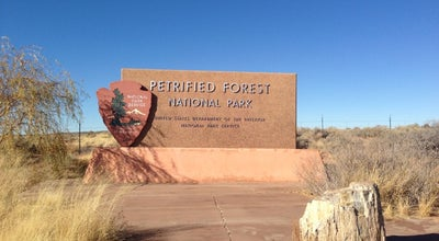 Photo of National Park Petrified Forest National Park at Petrified Forest Rd., Petrified Forest, AZ 86028, United States