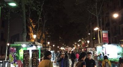 Photo of Road Las Ramblas at Spain