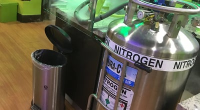 Photo of Ice Cream Shop nitrogen ice cream factory at 1 Curtiss Pkwy, Miami Springs, FL 33166, United States