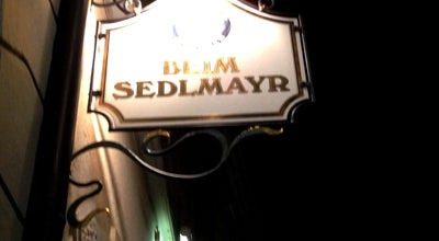 Photo of German Restaurant Beim Sedlmayr at Westenriederstr. 14, Munich 80331, Germany