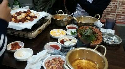 Photo of BBQ Joint 2학년1반불막창 at 북구 칠성동2가, Daegu, South Korea