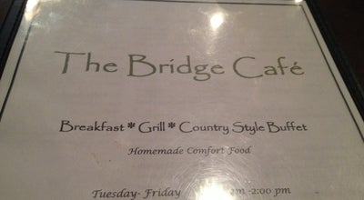 Photo of American Restaurant Bridge Cafe at 373 Gunter Ave, Guntersville, AL 35976, United States