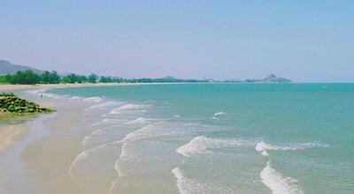 Photo of Beach หาดเขาเต่า (Khao Tao Beach) at Prarachcamri Rd., Hua Hin 77110, Thailand