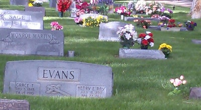 Photo of Monument / Landmark Mountain View Cemetary at 1701-1799 S 7th Ave, Pocatello, ID 83201, United States