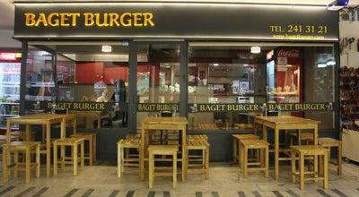 Photo of Burger Joint Baget Burger at Altıntop Mah. 834. Sok. No:2/c Çınar, Denizli 20010, Turkey