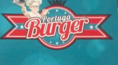Photo of Burger Joint Portuga Burger at Av Portugal, 397a, Mauá, Brazil