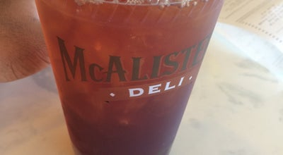Photo of Deli / Bodega McAlister's Deli at 20911 Gulf Fwy, Webster, TX 77598, United States
