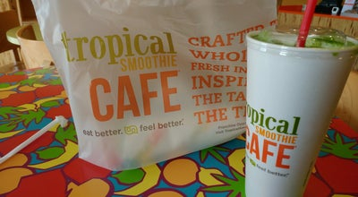 Photo of American Restaurant Tropical Smoothie Cafe at 6424 Landswone Centre, Alexandria, VA 22315, United States