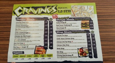 Photo of Burger Joint Cravings Grill & Desserts at 71a Mount Pleasant, Liverpool L3 5TP, United Kingdom