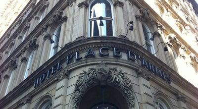 Photo of Hotel Le Place d'Armes Hôtel & Suites at 55 St-jacques, Montreal, QC H2Y 3X2, Canada