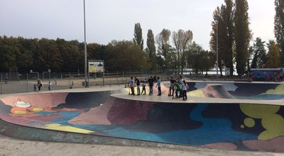 Photo of Skate Park Skaterpark Lausanne at Chemin Du Camping, Lausanne 1007, Switzerland