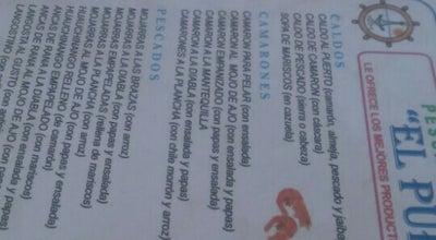 """Photo of Seafood Restaurant Pescado y mariscos """"El puerto""""' at Mexico"""
