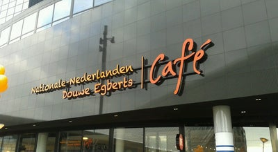 Photo of Coffee Shop Nationale-Nederlanden Douwe Egberts Café at Stationsplein 25, Rotterdam 3013 AJ, Netherlands