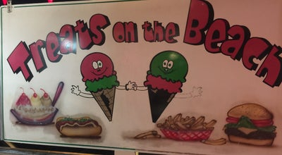 Photo of Ice Cream Shop Treats On the Beach at 504 Flagler Ave, New Smyrna Beach, FL 32169, United States