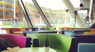Photo of Cafe Library Cafe & Roastery at Welthandelsplatz 1, Vienna 1020, Austria
