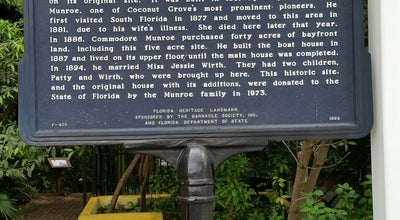 Photo of Historic Site The Barnacle Historic State Park at 3485 Main Highway, Miami, FL, FL 33133, United States