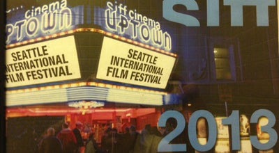 Photo of Indie Movie Theater SIFF Cinema at the Uptown at 511 Queen Anne Ave N, Seattle, WA 98109, United States