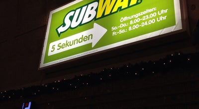 Photo of Sandwich Place Subway at Hauptbahnhof Bahnhofsplatz 1a, Karlsruhe 76135, Germany