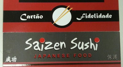 Photo of Japanese Restaurant Saizen Sushi at Belo Horizonte 119, Hortolândia, Brazil