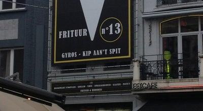 Photo of Food Frituur 13 at Grote Markt 13, Hasselt 3500, Belgium