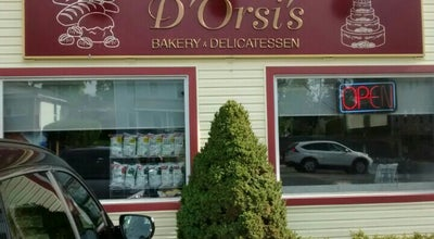 Photo of Bakery D'Orsi's Bakery & Delicatessen at 197 Washington St, Peabody, MA 01960, United States