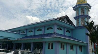 Photo of Mosque Masjid Jamek Al-Faizin at Parit Kaspan, Parit Raja, Malaysia