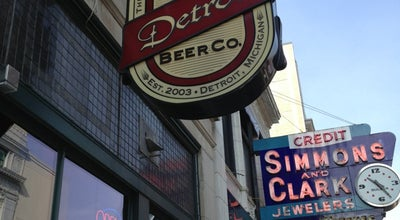 Photo of Brewery Detroit Beer Company at 1529 Broadway St, Detroit, MI 48226, United States