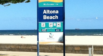 Photo of Beach Altona Beach at Esplanade, Altona, VI 3018, Australia