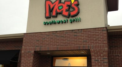 Photo of Burrito Place Moe's Southwest Grill at 2401 East Empire Street, Bloomington, IL 61704, United States