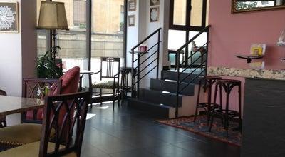 Photo of Cafe L'Algueró at Av. Mare De Déu De Montserrat, 214, Barcelona 08041, Spain