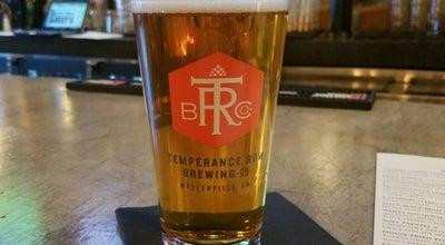 Photo of Brewery Temperance Row Brewing at 41 N State St, Westerville, OH 43081, United States
