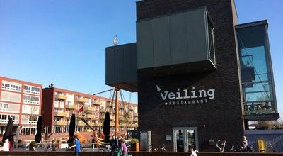 Photo of Italian Restaurant De Veiling at Veilinghavenkade 14, Utrecht 3521 AK, Netherlands