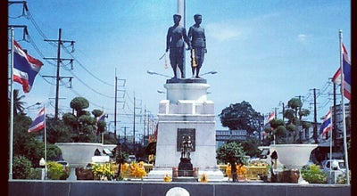 Photo of Monument / Landmark อนุสาวรีย์ท้าวเทพกระษัตรี ท้าวศรีสุนทร (Thep Kasatri & Si Sunthon Heroines Monument) at Thep Krasattri Rd., Thalang 83110, Thailand