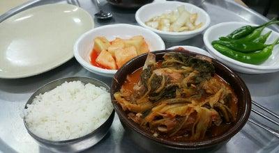 Photo of Korean Restaurant 홍천뚝배기 at 동구 공항로 130, 대구광역시 701-807, South Korea