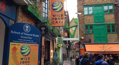 Photo of Vegetarian / Vegan Restaurant Wild Food Cafe at 14 Neals Yard, London WC2H 9DP, United Kingdom