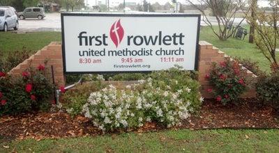 Photo of Church First United Methodist Church at 4405 Main St, Rowlett, TX 75088, United States