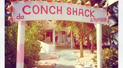 Photo of Seafood Restaurant Da Conch Shack at Blue Hills Beach, Providenciales, Turks and Caicos Islands