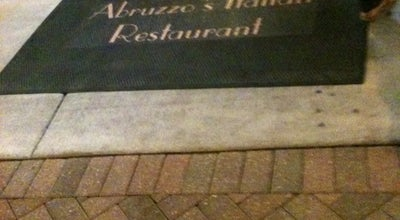 Photo of Italian Restaurant Abruzzo's at 1509 Division St, Melrose Park, IL 60160, United States