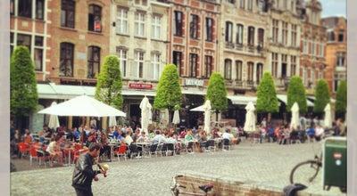 Photo of Plaza Oude Markt at Oude Markt, Leuven 3000, Belgium