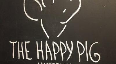 Photo of Creperie The Happy Pig Pancake Shop at Rosmarijnsteeg 12 1012 RP, Netherlands