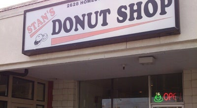 Photo of Donut Shop Stan's Donut Shop at 2628 Homestead Rd, Santa Clara, CA 95051, United States