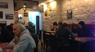 Photo of Restaurant Tala Hummus and Falafel at First Left After Jaffa Gate Latin Patriarchate, Israel