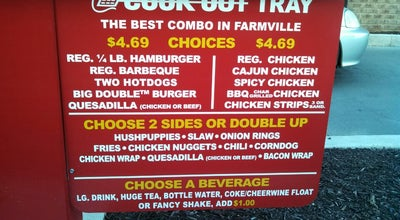 Photo of American Restaurant Cookout at 1437 S Main St, Farmville, VA 23901, United States