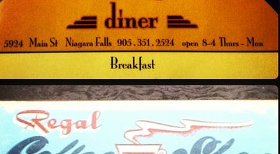 Photo of Breakfast Spot Regal Diner at 5924 Main St, Niagara Falls, United States