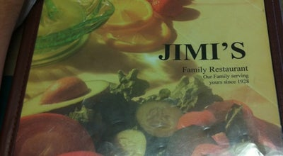 Photo of Greek Restaurant Jimi's Family Restaurant at 714 S Washington Ave, Royal Oak, MI 48067, United States