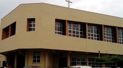 Photo of Church St. Dominics Catholic Church at Herbert Macaulay Way, Sabo Yaba, Lagos, Nigeria