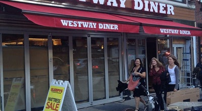 Photo of American Restaurant Westway Diner at 614 9th Ave, New York, NY 10036, United States