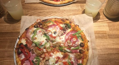 Photo of Pizza Place Blaze Pizza at 212 F St, Davis, CA 95616, United States